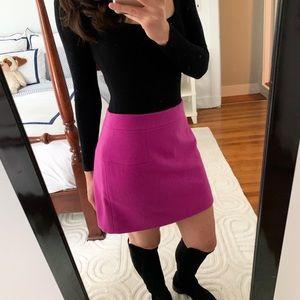 J. Crew Mini Felted Wool Skirt. Size 4.